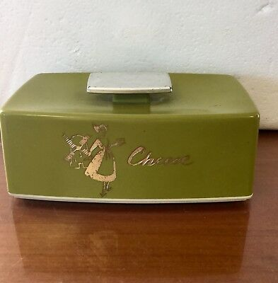 vintage canister Nylex Cheese Retro