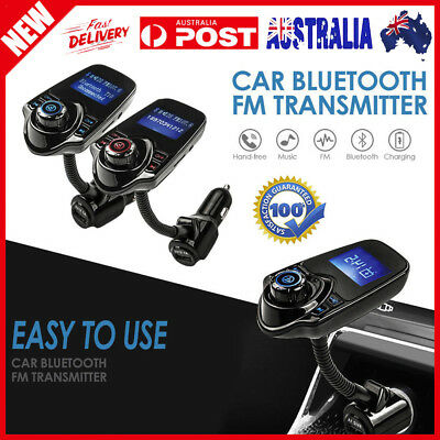 Handsfree Car Kit Wireless Bluetooth FM Transmitter MP3 Player USB SD LCD Remote