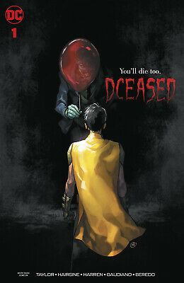 DCEASED #1, PUTRI HORROR VARIANT, New, First print, DC Comics (2019)