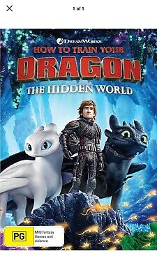 How to Train Your Dragon The Hidden World DVD Region 4 NEW 💯 Authentic