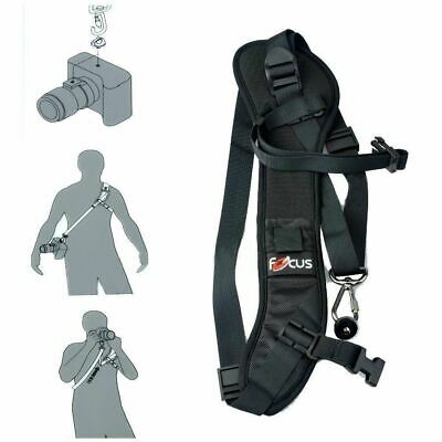 Focus F-1 Quick Rapid Sling Belt Neck Shoulder Strap For DSLR SLR Camera 2019!!!