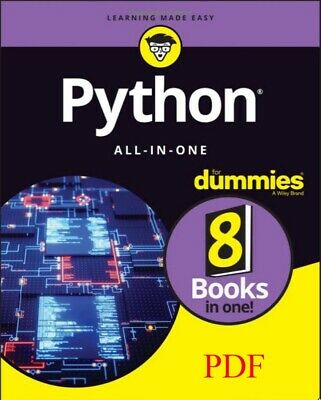 Python All-In-One for Dummies 2019-PDF