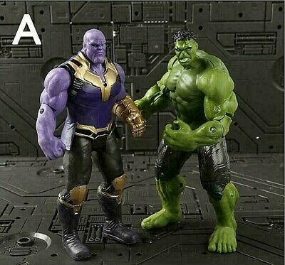 Marvel Super Hero Avengers Action Figure infinity War Hulk Thanos..Toys for Kids