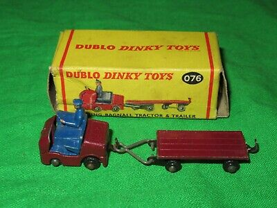 Reproduction Box by DRRB Dinky # 076 Dublo Dinky Lansing Bagnall /& Trailer