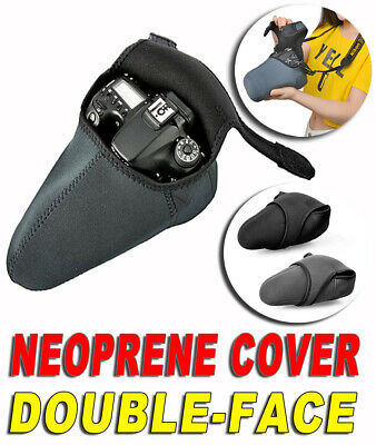 Cover Neoprene Case Pouch Bag Camera Size Large Nikon D700 D60 D40 D70 D70S D200