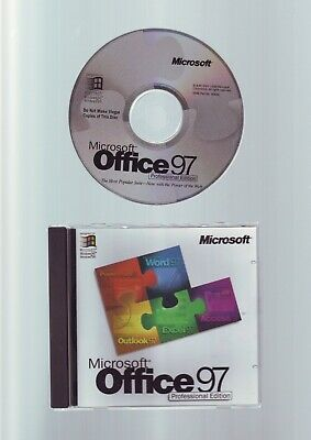 Microsoft Office 97 Professional - Word_Access_Excel_Powerpoint_Outlook Pro Full