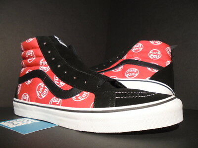 Vans Sk8-Hi Reissue Supreme F*Ck Em Fe Red White Black Box Logo Vn-0Za0G3O 12