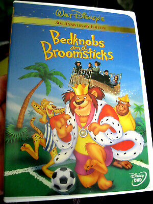 BEDKNOBS AND BROOMSTICKS ~ DVD 30th Anniversary Edition WALT DISNEY CLASSIC