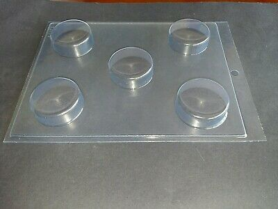 5 on 1 DEEP OREO CHOCOLATE MOULD/MOULDS/BISCUIT/PLAIN/ROUND/SMOOTH