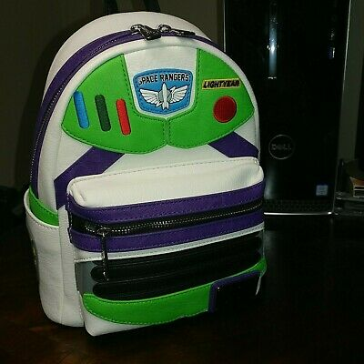 Disney Parks Loungefly 2019 Pixar Toy Story 4 Buzz Lightyear Backpack New Tags