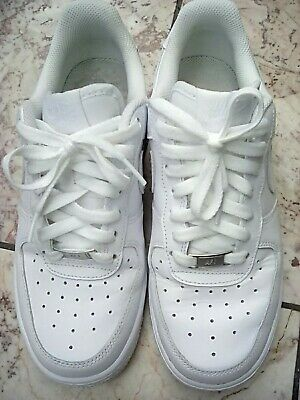 on sale 8a29a f95a8 Nike Air Force 1 White Trainers Size 5 VG Condition