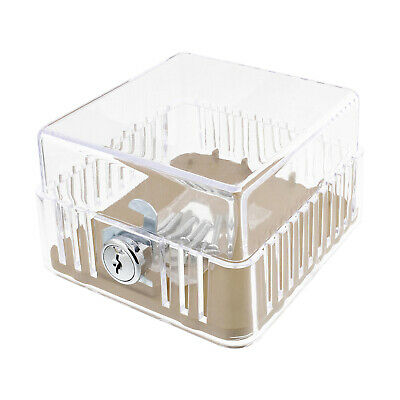 Clearance-BISupply AC Thermostat Cover Lock AC Thermostat Lock Box Cover XS Size