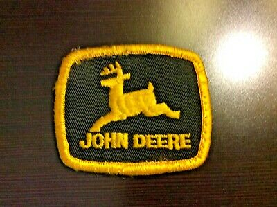 OEM Vintage John Deere Iron On Patch Tractor Farming Advertising Embroidered NEW