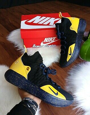 reputable site 93402 21d12 7 MEN S   8.5 WMNS Nike iD Zoom KD11 Basketball AT8633 991 black yellow  sneakers