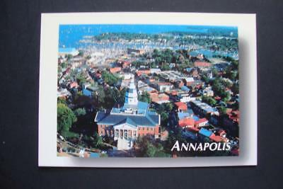 329) Annapolis Maryland ~ The Old State House ~ Stores ~ Boat Harbor ~ Hotels