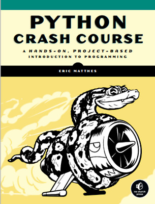 Python Crash Course: Introduction to Programming, A Hands-On, Project-Based -PDF