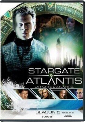 STARGATE ATLANTIS COMPLETE FIFTH SEASON 5 FIVE New Sealed 5 DVD Set