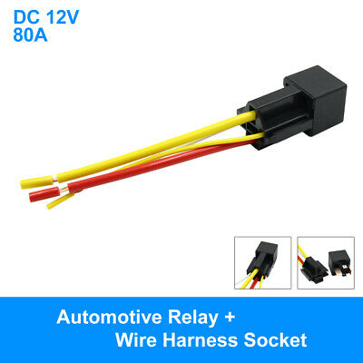 Switches & Relays uxcell® Waterproof DC 12V 80A SPST Auto ... on