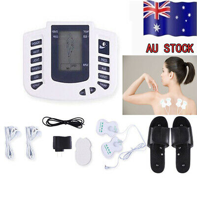 Electrical Full Body Massager Relax Stimulator Pulse Acupuncture Therapy Slipper