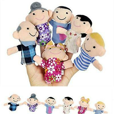 Kids Plush Toy Cute Cartoon Finger Doll Parent-child Interactive Toy EH7E 02