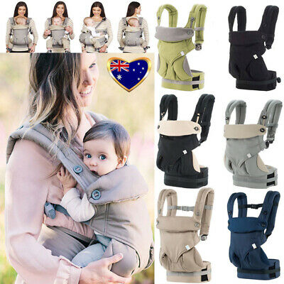 2019 Baby Infant Safety Carrier 360 Four Position Breathable Baby Lap Strap AU