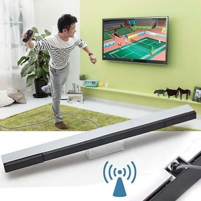 Remote IR Infrared Ray Inductor Motion Sensor Bar Wired for Wii Controller New