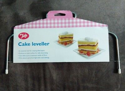 Cake Tortes Leveller Splitting Cutting Slicer Layers Adjustable Wire 25 cm Tala