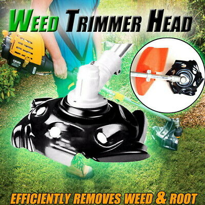 Professional Weeds Trimmer Head Lawn Mower Sharpener Weed Trimmer Head Tool New