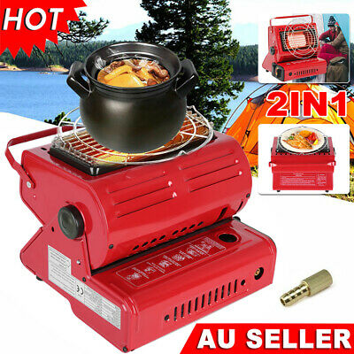 Portable Butane Gas Heater Camping Outdoor Hiking Camper Survival Heat Cooker EB