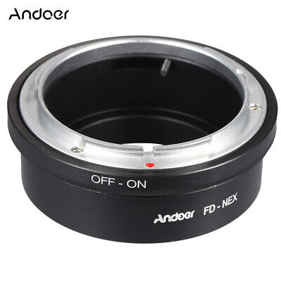 Andoer FD-NEX Adapter Ring Lens Mount for Canon FD Lens to Fit for Sony NEX X6D0