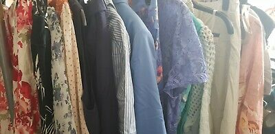 Joblot Wholesale x23 Ladies Clothing - Tops,dresses, ExCondition size 14 to 18