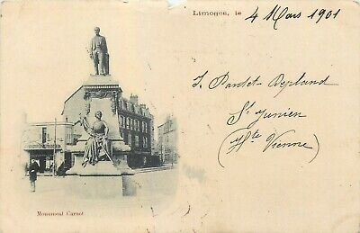 87 LIMOGES monument carnot