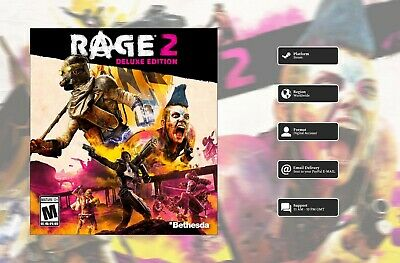 RAGE 2 Deluxe Edition (2019, PC)