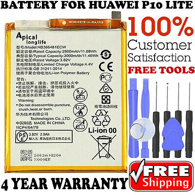 New Original OEM HB366481ECW Battery Replacement Fit For HUAWEI P10 lite 3000mAh