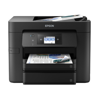 Epson Workforce Pro Wf-4730Dtwf Stampante Multifunzione All In One Ink Jet Black