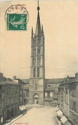 Cp Limoges Eglise Saint-Michel
