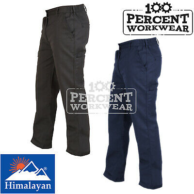 High Quality Hard Wearing Active Work Trousers Mens Pants Combat Pocket Security