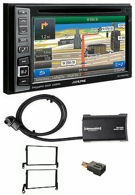 Alpine Bluetooth w/Navigation/GPS/DVD/XM Radio For 1999-2002 Lincoln Navigator