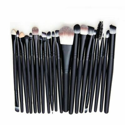 20tlg Professional Make up Brush Kosmetik Pinsel Schminkpinsel Set Werkzeug