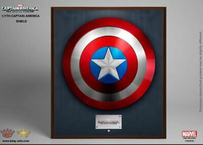 King Arts 1/1 MPS004 Avengers Captain America Shield End Game Full Metal