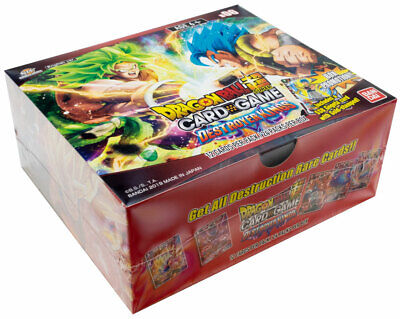 Dragonball Super TCG Destroyer Kings Sealed Booster Box DBS Power up over 9000!