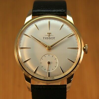 1961 TISSOT Gent's Vintage Swiss Watch / Gold Ptd / FULLY SERVICED – IMMACULATE