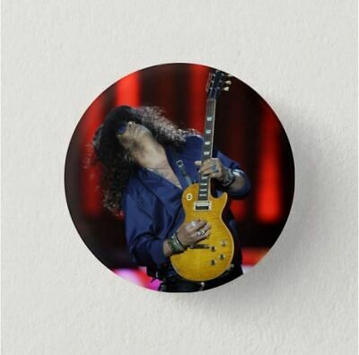 Chapa Pin Badge Button Brooch ROCK, HEAVY METAL, SLASH