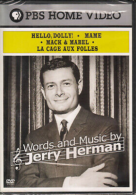 Words and Music By Jerry Herman (DVD, 2007) New