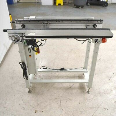 CTI Conveyor Technologies CC-1M-1-0640 1m PCB Auto/Manual Conveyor Workstation