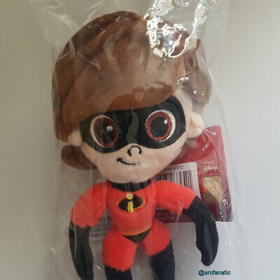 "THE INCREDIBLES 2, Elastigirl, Helen 7"" Small Plush Soft Toy, Disney Pixar NEW"