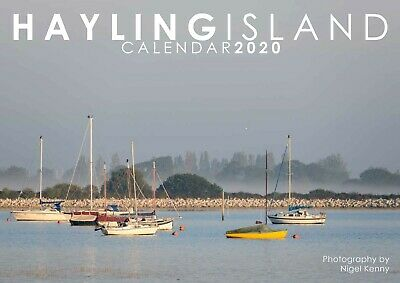 Hayling Island Calendar 2020 - A4 opening to A3