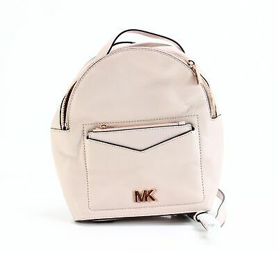 7f24284c83d6 Michael Kors NEW Pink Pebble Leather Jessa Convertible Backpack Bag $268-  #023