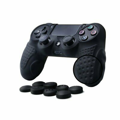 CHINFAI PS4 Controller DualShock 4 Skin Grip Anti-slip Silicone Cover Protector