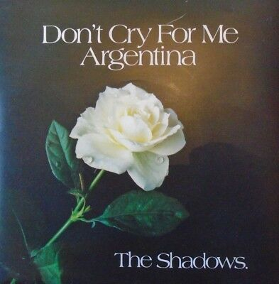 "SHADOWS - Dont Cry For Me Argentina ~ 7"" Single PS"